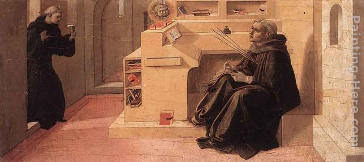 Vision of St Augustine